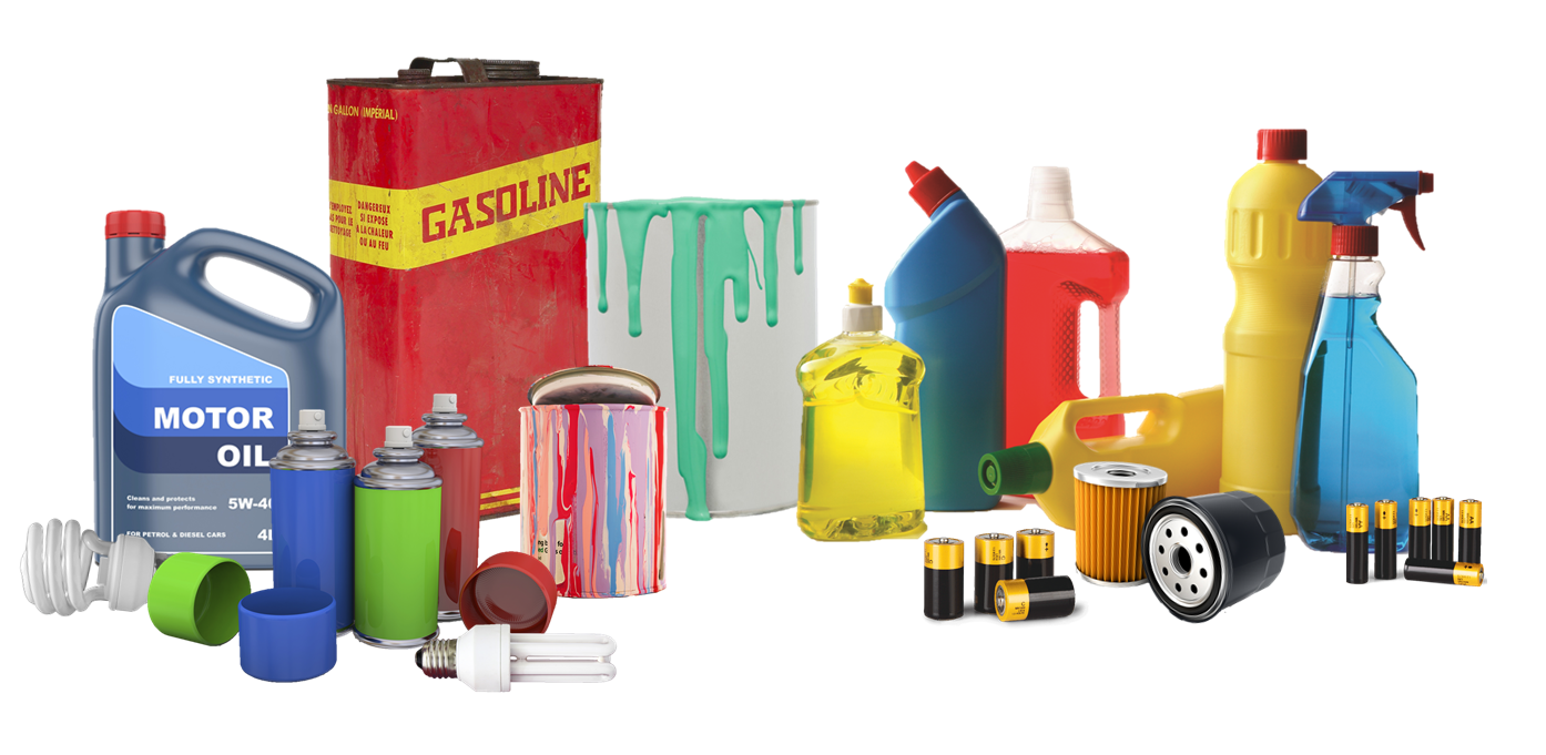 Household hazardous waste collection information waste for Waste material products